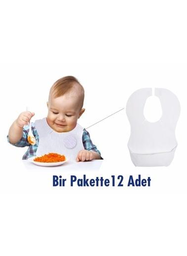 Sevi Bebe Sevi Bebe Kullan At Mama Önlüğü (12 Adet) Renkli